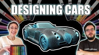 VIRTUAL REALITY CAR DESIGNING!