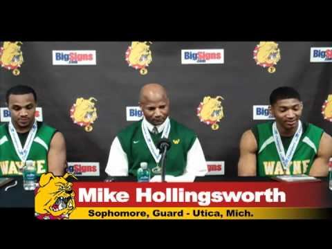 FSU Wayne State Press Conference: Greer, Hollingsworth, Smothers