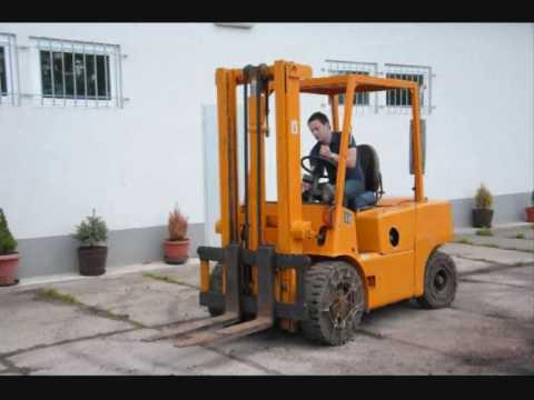Front Forklift BALKANCAR DV 1792 3,5 T 1988