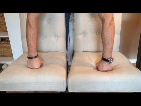 Stühle neu polstern, Sitzfläche stärker aufpolstern