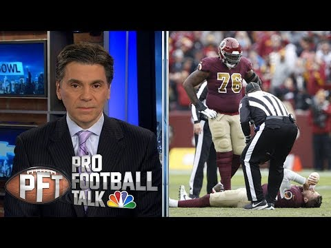 Video: Redskins' Alex Smith suffers devastating leg injury | Pro Football Talk | NBC Sports