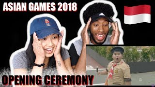 Video AMERICANS REACT TO INDONESIA OPENING CEREMONY ASIAN GAMES 2018 MP3, 3GP, MP4, WEBM, AVI, FLV September 2018