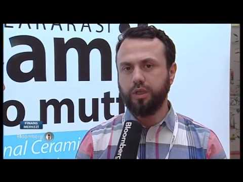 Manager of Kas Factory  reported  ideas about the Faucet at  UNİCERA International fair 2016.