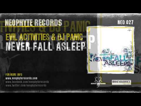 Evil Activities & Panic - Never Sleep Again