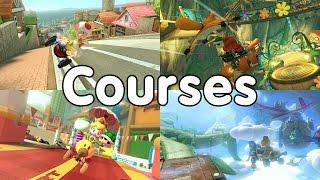 Top 10 - Mario Kart 8 Deluxe Courses