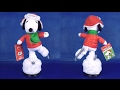 Christmas 2016 Animated Ice Skating Snoopy Christmas Figures Dolls Peanuts Theme Song Full Episode