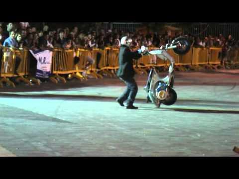 vespa freestyle show - roma