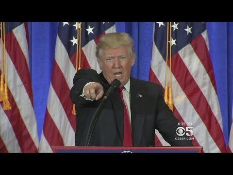 Download President-Elect Trump Spars With Press During First News Conference Since Election HD Mp4 3GP Video and MP3