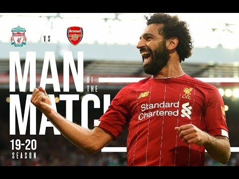 Mohamed Salah l MOTM l vs Arsenal l Premier league 19/20 l Fixture 3