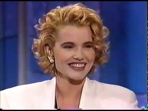 GEENA DAVIS - HILARIOUS INTERVIEW