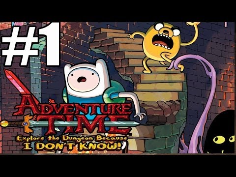 Adventure Time Explore The Dungeon Because I Don't Know Walkthrough Part 1 (90 Minutes)