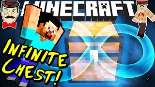 Minecraft INFINITE CHEST! Unlock the Mysterious Secret!