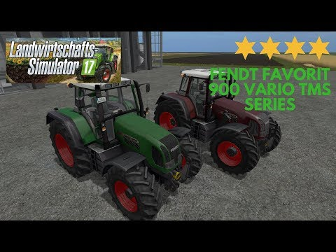 Fendt Favorit 900 Vario TMS Series v3.0 Final Full