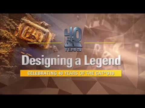 Designing a Legend: The Cat D10 at 40