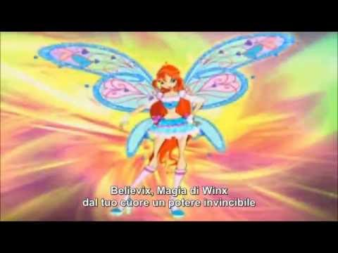 Winx Club Believix Transformation (Italian)