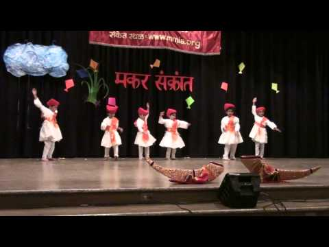 Video MMLA Makar Sankrant 2011 Marathi Oh Raje dance Part 1 download in MP3, 3GP, MP4, WEBM, AVI, FLV January 2017
