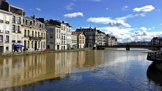 Bayonne France  city photo : Guía / Ruta por BAYONA - BAYONNE. Turismo y viajes Aquitania, Francia / France city tour visit ville