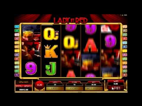 Обзор игрового аппарата Леди в красном (lady in red) - бонусный режим, правила