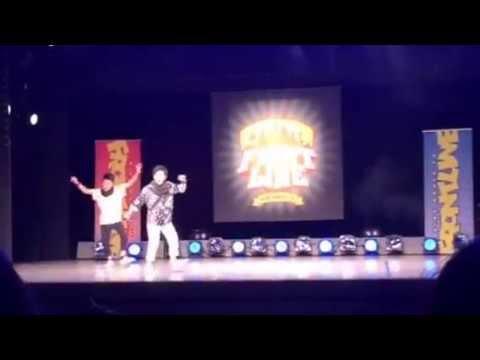 FRONTLINE キッズダンス 優勝 ZEAL 2015/04/05 (видео)
