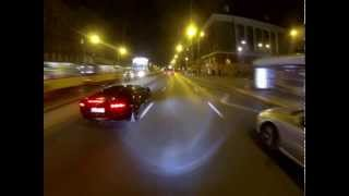Pojedynek Polaków na pasach Lamborghini Aventador vs Suzuki GSXR 600 K1
