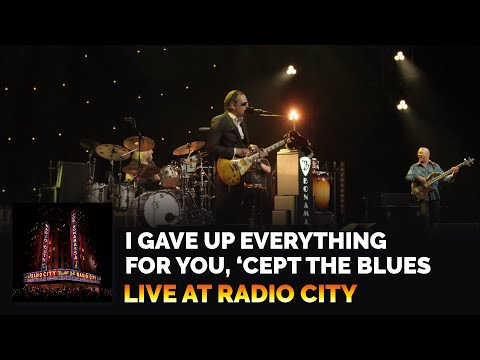 I Gave Up Everything for You, 'Cept the Blues (Live)