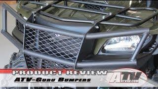 7. ATV Television - ATV-Guru Suzuki King Quad Bumpers