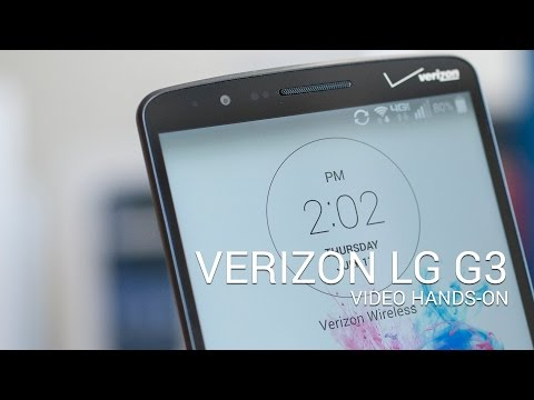 Verizon - Here's a quick look at the Verizon LG G3. On Verizon. You can tell by the Verizon logos that it's a Verizon phone. Also by the Verizon apps. This phone works...