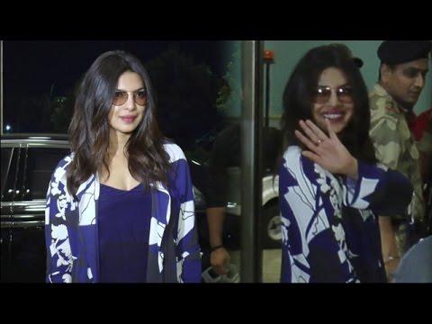 Priyanka Chopra Leaves India For Baywatch Promotio