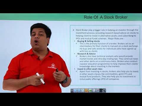Stock Broker and Sub Broker