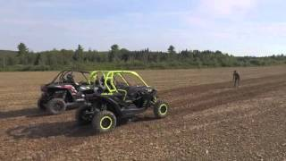 7. 2016 Can-Am Maverick X ds 1000R Turbo vs 2016 Polaris RzR Turbo