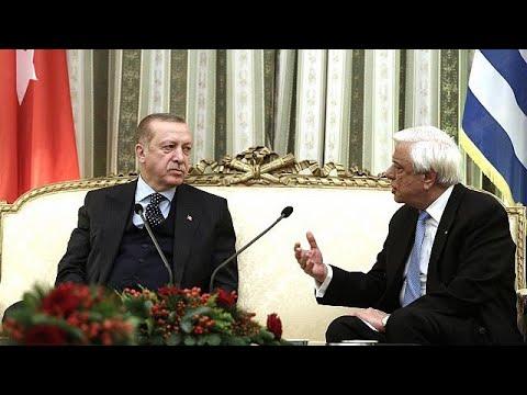 Στην Αθήνα ο Τούρκος πρόεδρος Ταγίπ Ερντογάν