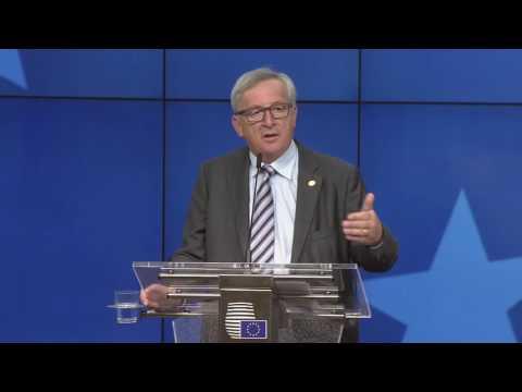 Δηλώσεις Γιούνκερ μετά την ολοκλήρωση της άτυπης Συνόδου Κορυφής των 27
