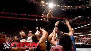 Nonton Roman Reigns sparks a chaotic brawl with Triple H: Raw, March 28, 2016 Film Subtitle Indonesia Streaming Movie Download