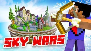 NEW SKY WARS MODE! - Minecraft SKYBLOCK #12 (Season 3)