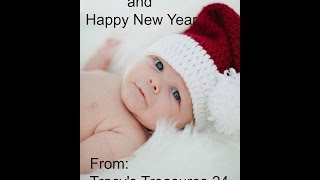 My adorable grandson and I would love to wish you all a wonderful Holiday and a safe, happy and healthy...and creative New Year :)Looking forward to creating with you in the New Year :)