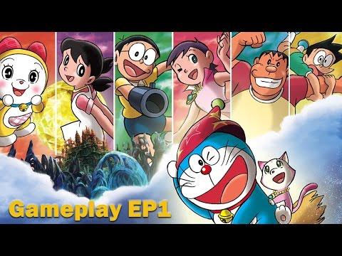 【任天堂DS】哆啦A夢 -「新·大雄的魔界大冒險~7人魔法使~」遊戲影片 – Part1