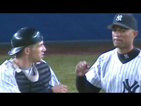 Video: 1999 ALDS Gm2: Rivera saves Game 2 with scoreless 9th