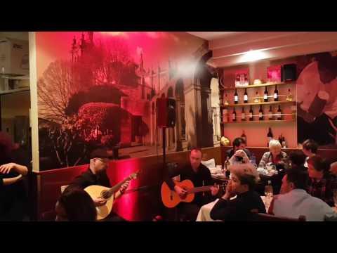 Guitarrada Fado em Vitória Gasteiz no Restaurante O Moinho