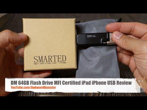 DM 64GB Flash Drive MFI Certified iPad iPhone USB Review
