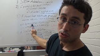 "My first white board video! I discuss and clear up the prevailing ""perceptions"" of what having a high metabolism really is and whether it's all it's cracked up to be.References:The Advantages of a Slow Metabolism- http://healthyeating.sfgate.com/advantages-slow-metabolism-9657.htmlFamilial longevity is associated with decreased thyroid function- https://www.ncbi.nlm.nih.gov/pubmed/20739380Calorie restriction and prevention of age-associated chronic disease- https://www.ncbi.nlm.nih.gov/pubmed/21402069Effect of resistance training on resting metabolic rate and its estimation by a dual-energy X-ray absorptiometry metabolic map- https://www.ncbi.nlm.nih.gov/pubmed/25293431Aerobic fitness and resting energy expenditure in young adult males-https://www.ncbi.nlm.nih.gov/pubmed/2642591Impact of Cardiorespiratory Fitness on All-Cause and Disease-Specific Mortality: Advances Since 2009-https://www.ncbi.nlm.nih.gov/pubmed/28286137Caloric Intake and Aging- https://www.ncbi.nlm.nih.gov/pmc/articles/PMC2851235/Heart Rate, Life Expectancy and the Cardiovascular System: Therapeutic Considerations- https://www.ncbi.nlm.nih.gov/pubmed/26305771Protective role of resting heart rate on all-cause and cardiovascular disease mortality- https://www.ncbi.nlm.nih.gov/pubmed/24290115Respiratory gas-exchange ratios during graded exercise in fed and fasted trained and untrained men-https://www.ncbi.nlm.nih.gov/pubmed/9931180Skeletal muscle fat oxidation: timing and flexibility are everything-https://www.ncbi.nlm.nih.gov/pmc/articles/PMC1159159/A Fast Metabolism Could Make You Age More Quickly- http://www.huffingtonpost.com/joel-fuhrman-md/metabolism-aging_b_870845.htmlLow resting metabolic rate is associated with greater lifespan because of a confounding effect of body fatness- https://www.ncbi.nlm.nih.gov/pubmed/25502004Daily activity energy expenditure and mortality among older adults- https://www.ncbi.nlm.nih.gov/pubmed/16835422The 5 Biggest Myths About Metabolism- http://dailyburn.com/life/health/metabolism-myths-weight-loss/"