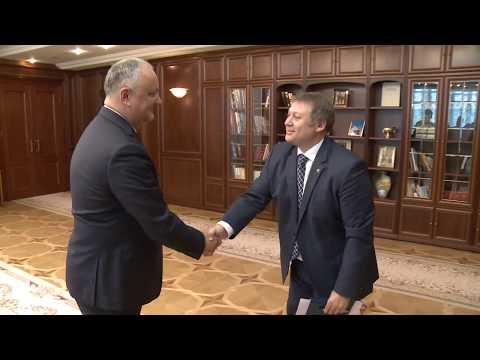 Șeful statului a avut o întrevedere cu Vadim Brînzan și Vadim Ceban