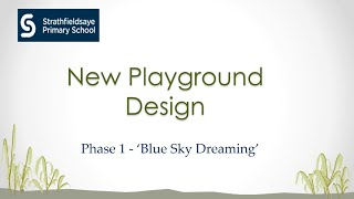 Strathfieldsaye PS New Playground Design video
