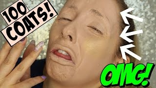 100 LAYERS OF FOUNDATION & HIGHLIGHT - OMG! by Piink Sparkles