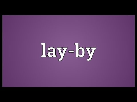 layby meaning
