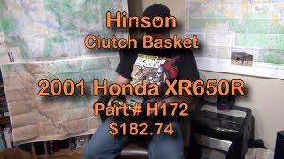 6. Honda XR650R Hinson Clutch Basket H172