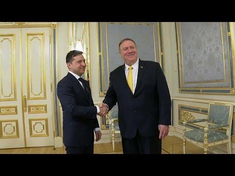 Ουκρανία: Συνάντηση Ζελέσνκι – Πομπέο