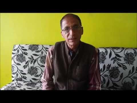 (Dr Guna Raj Awasthi - Duration: 13 minutes.)