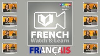 Speak French  (n) YouTube video