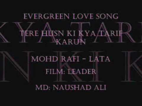 Video tere husn ki kiya tarif karun       rafi-lata      LEADER download in MP3, 3GP, MP4, WEBM, AVI, FLV January 2017