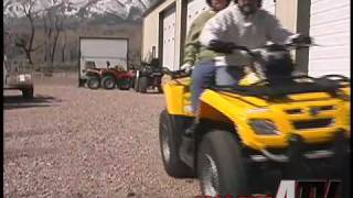 10. ATV Television Test - 2008 Can Am Outlander Max 650